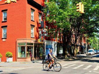 West Village em Nova York - Perry St e Bleecker St