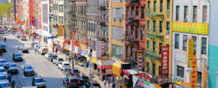 Chinatown em Nova York