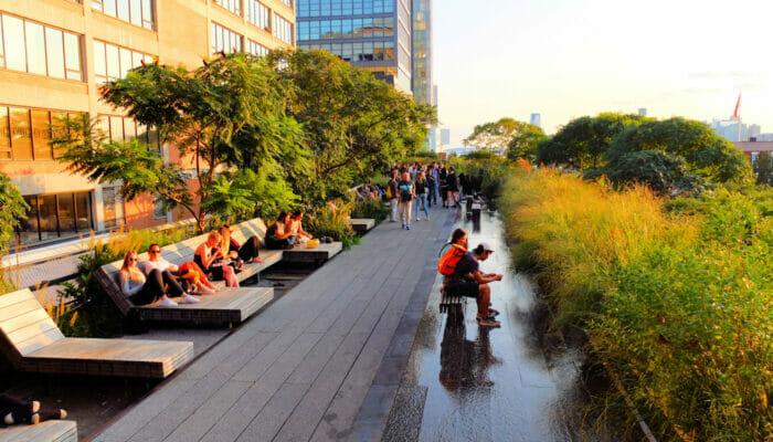 Meatpacking District em Nova York - High Line Park