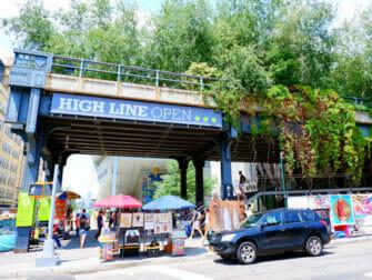 Meatpacking District em Nova York - The High Line