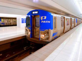 PATH em Nova York - Trem