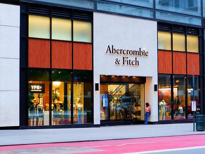 Abercrombie and Fitch em Nova York
