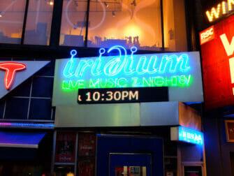 Jazz em Nova York - Iridium