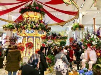 Macy's in New York Flower Show
