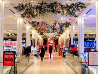 Macy' em Nova York - Decoração de Natal