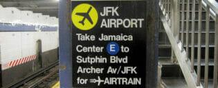 Transporte de Manhattan para o aeroporto JFK