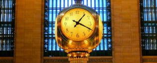 Horário de funcionamento em Nova York