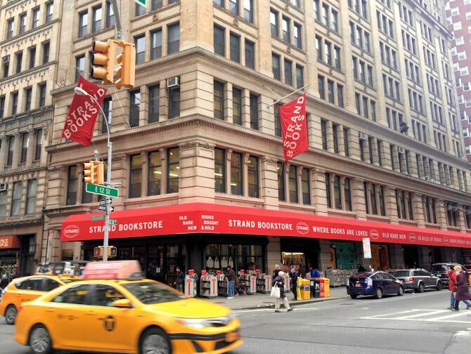 The Strand Bookstore em Nova York