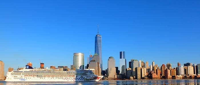 Transfer entre os aeroportos de Nova York e os portos de cruzeiros