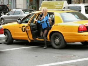 Táxis são um bom meio de transporte em Nova York