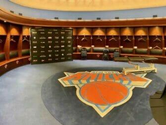 Madison Square Garden em Nova York - All Access Tour Knicks