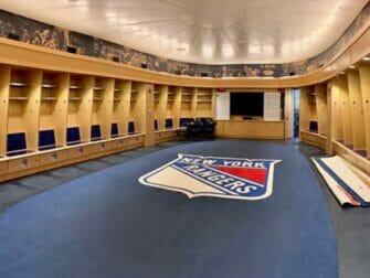Madison Square Garden em Nova York - All Access Tour Rangers