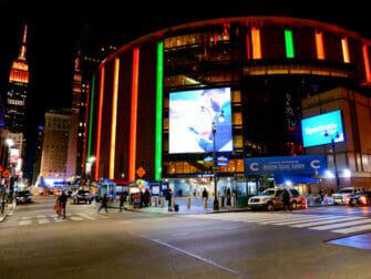 Madison Square Garden em Nova York - Exterior