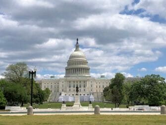 Capitol Washington passeio de 2 dias saindo de Nova York