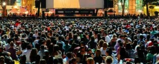 Filmes gratuitos no Bryant Park