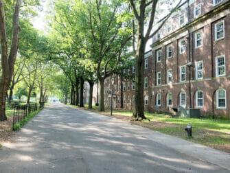 Governors Island em Nova York - Casas