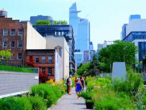 High Line Park em Nova York