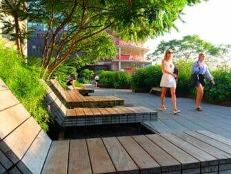High Line Park em Nova York - Espreguiçadeiras