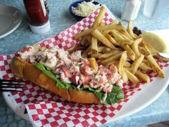 Passeio de Nova York para Boston - Lobster Roll