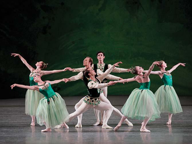 Ingressos para o Ballet em Nova York - Serenade in Green
