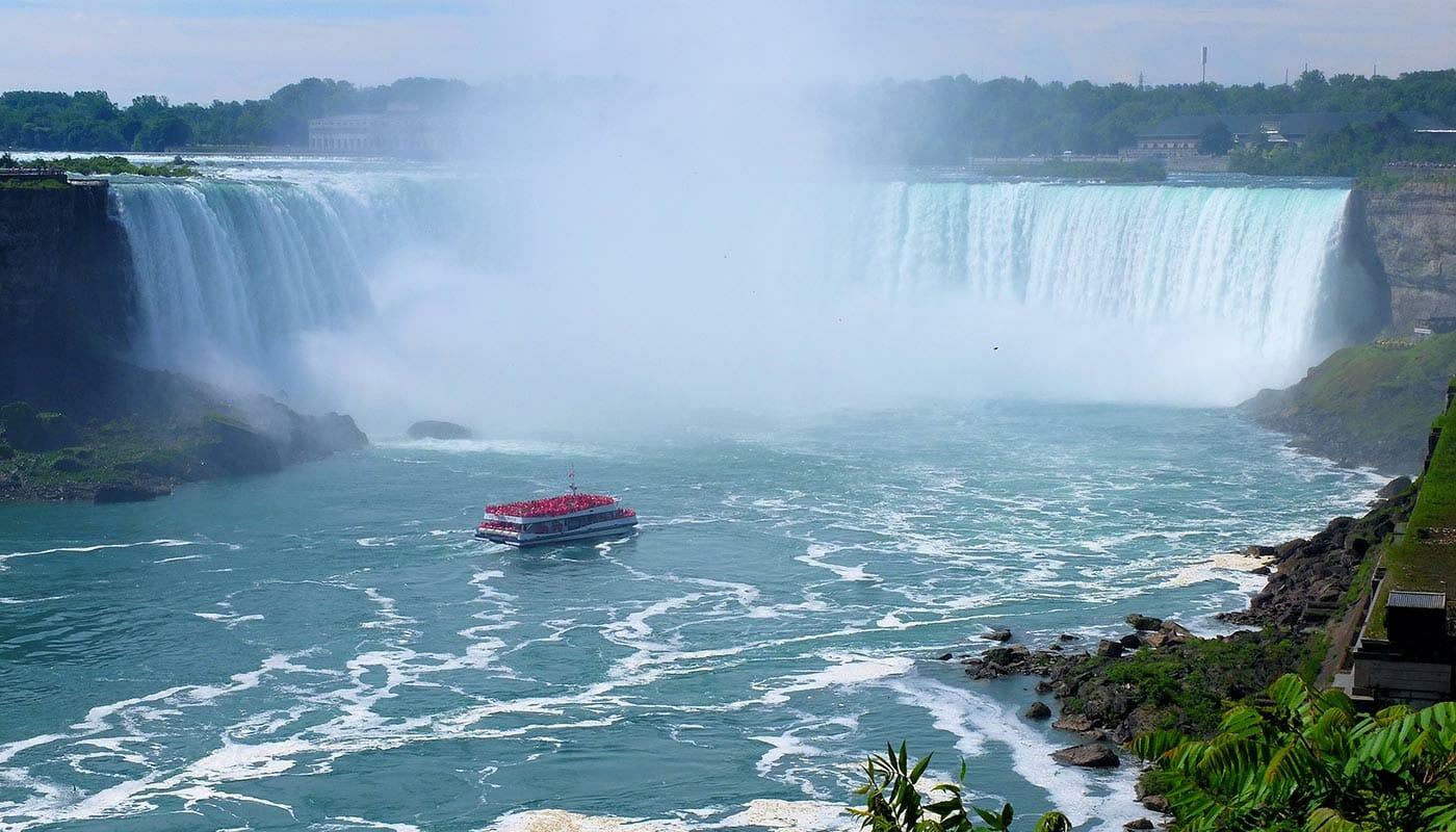 Passeio de Nova York para o Canadá - Niagara Falls