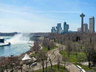 Niagara Falls lado Canadense