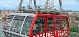 Roosevelt Island Tram Nova em York