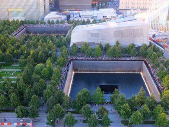 Memorial 11 de Setembro em Nova York - Vista Aérea
