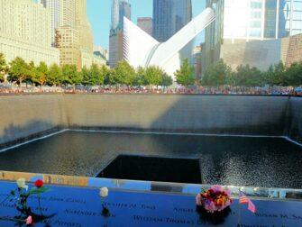 Memorial 11 de Setembro em Nova York - Rosas