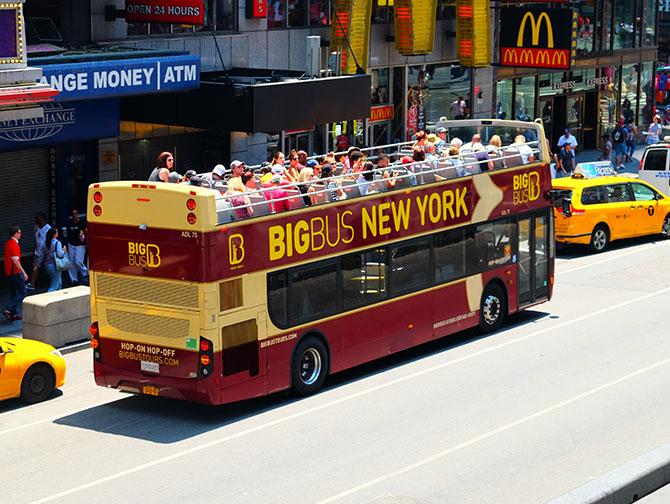 Big Bus em Nova York - Onibus