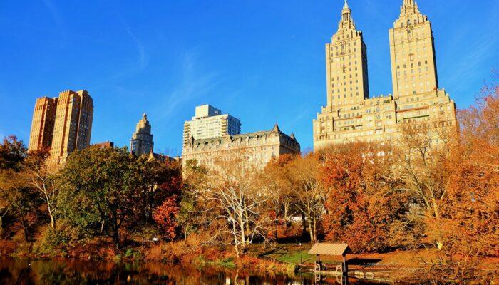Central Park em Nova York - Outono