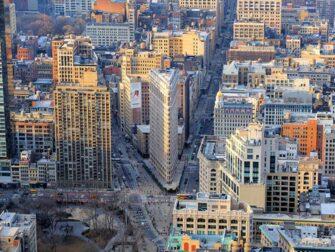 Ingressos para o Empire State Building - Vista para o Flatiron