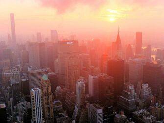 Ingressos para o Empire State Building - Amanhecer no East River