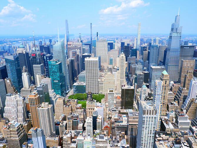 Ingressos Empire State Building - Vista Uptown Manhattan