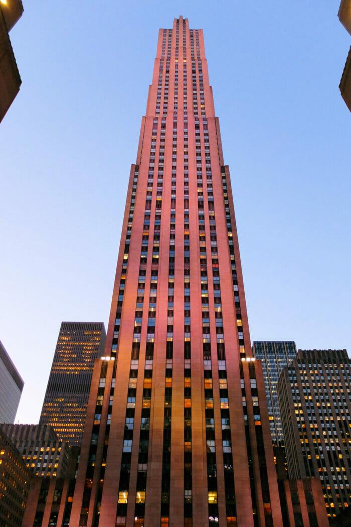Rockefeller Center em Nova York - Comcast Building