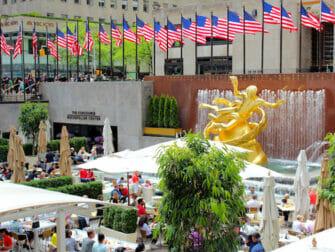 Rockefeller Center em Nova York - Terraço