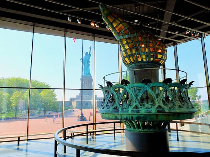Estátua da Liberdade - A tocha