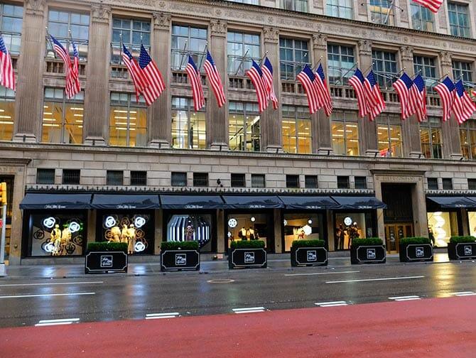 ir às compras Fifth Avenue