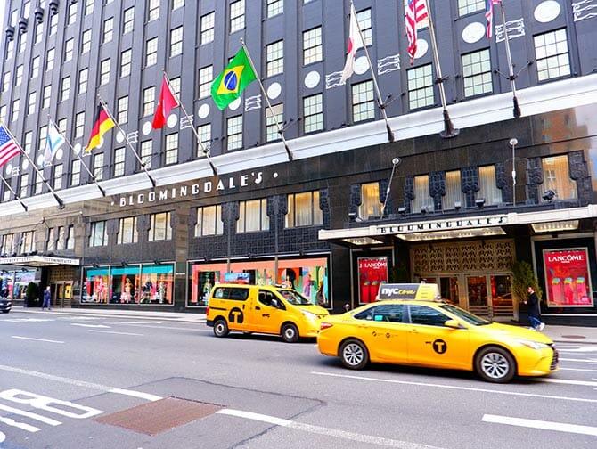Compras no Upper East Side em Nova York