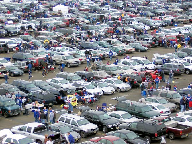 New York Giants estacionamento