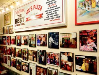 Melhor Pizza de Nova York - Joe's New York