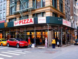 Melhor Pizza de Nova York - Joe's Pizza