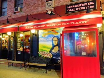 Melhor Pizza em Nova York - Lombardi's Pizza