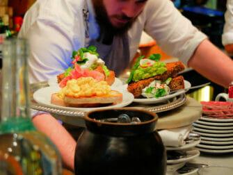 Café da Manhã em Nova York - Comida no Buvette