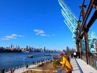 Parques em Nova York - Passarela Elevada no Domino Park