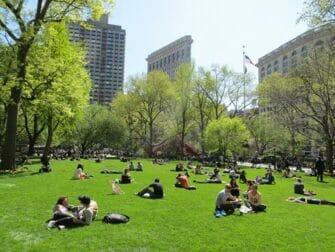 Parques em Nova York - Madison Square Park