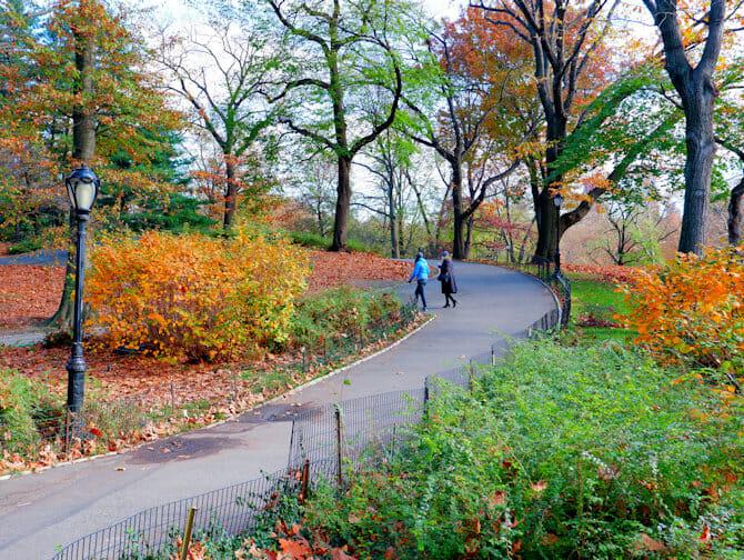 Parques em Nova York