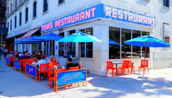 Tom's Restaurant em Nova York