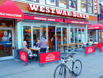 Westway Diner em Nova York