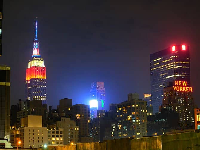 4 de Julho em Nova York - Empire State Building